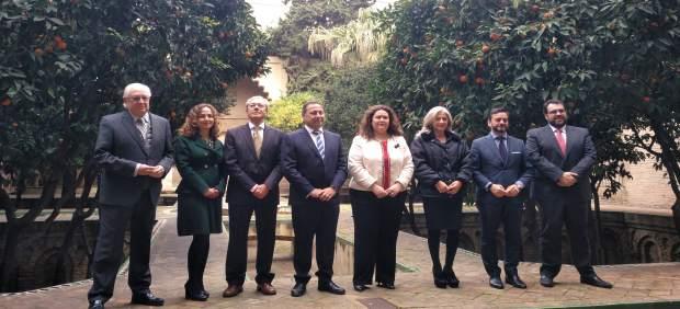 Traspaso de competencias al nuevo delegado del Gobierno de la Junta en Sevilla.