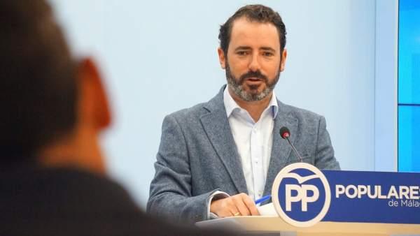 José Ramón Carmona portavoz del PP de Málaga