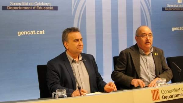 Carles Martínez y Josep Bargalló.