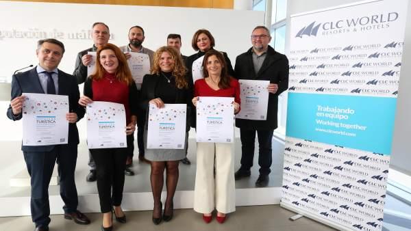 Presentación feria empleo juvenil CLC World Málaga mijas Diputación Mata