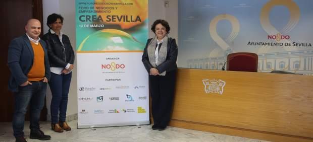 Presentación del I Foro de Negocios y Emprendimiento CREA Sevilla