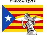 'El juicio al procés', viñeta de Malagón.