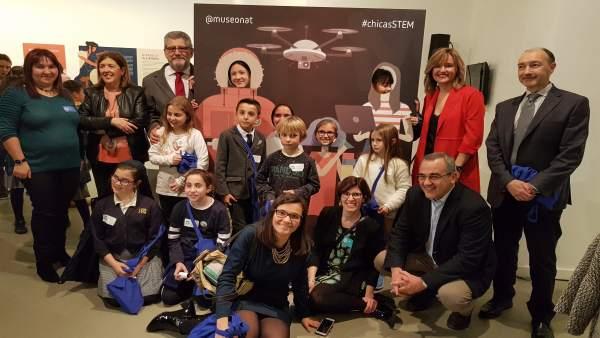 Pilar Alegría en el Día Internacional de la Mujer y la Niña en la Ciencia