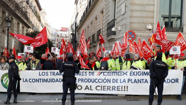 huelga general en Cemex