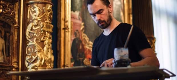 Guillaume Bruère reinterpreta con dibujos algunas obras maestras del Museo Lázaro Galdiano