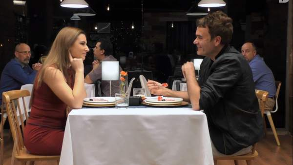 Diana y Ramón, en 'First dates'.