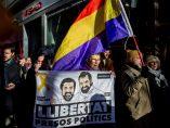 'Libertad para los presos políticos'