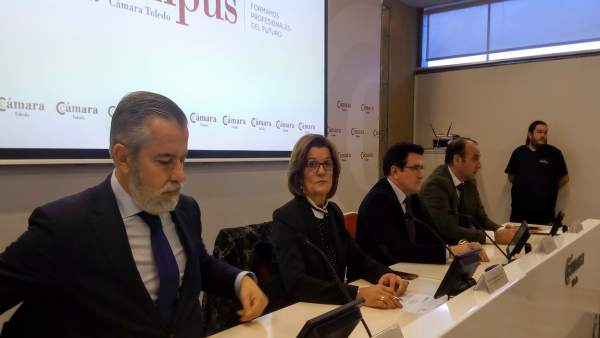 Responsales de la Cámara, el Ayuntamiento y Fedeto presentan el Campus Cámara de