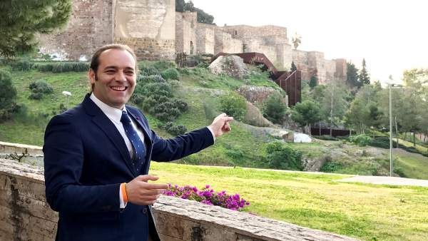 Juan Cassá en Gibralfaro