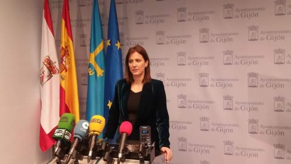 LARA MARTÍNEZ, CONCEJALA DEL PSOE DE GIJÓN