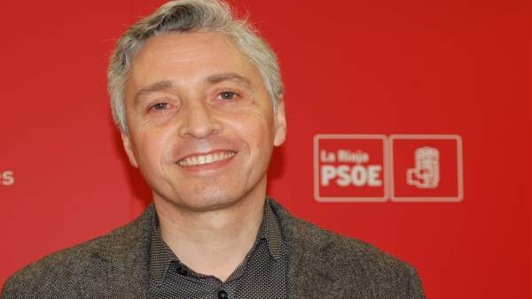 Francisco Ocón, secretario general del PSOE riojano