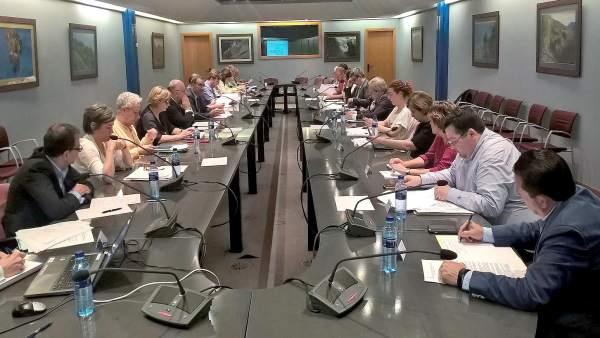 Reunión del área metropolitana de Asturias