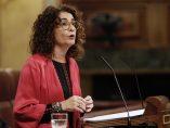 Montero interviene en el Congreso