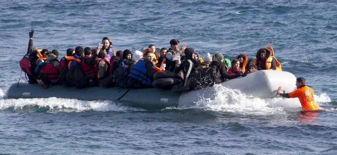 Misión de rescate de refugiados