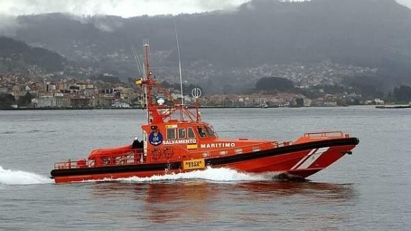 Salvamento Marítimo en la ría de Vigo