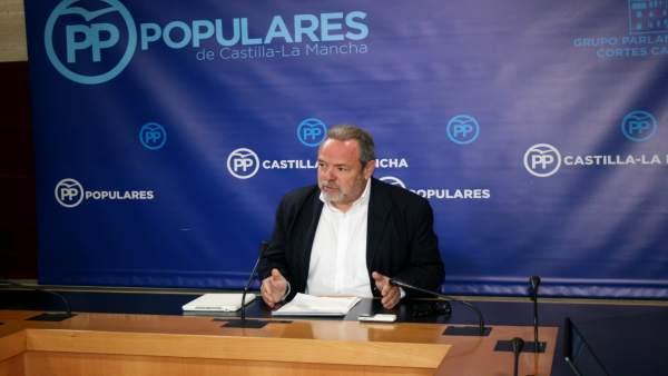 Pp Clm (Cortes De Voz Y Fotografía) Jesús Labrador, En Rueda De Prensa 120219