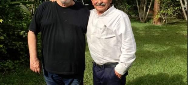 Miguel Ángel Revilla y Silvio Rodríguez
