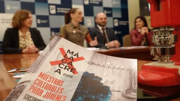 El Ayuntamiento De Málaga Informa: Málagacrea Busca A Los Jóvenes Artistas Andal