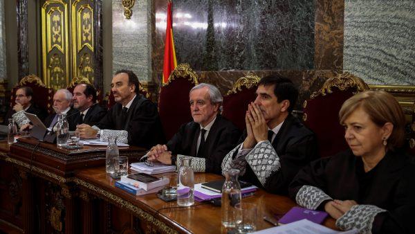 El tribunal del juicio del procés