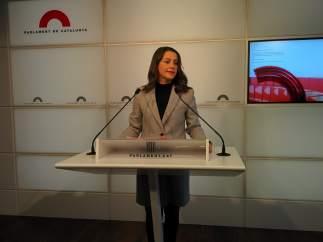 Inés Arrimadas (Cs).