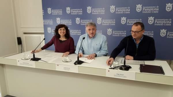 Presentación de la OPE de 2019 en el Ayuntamiento de Pamplona.