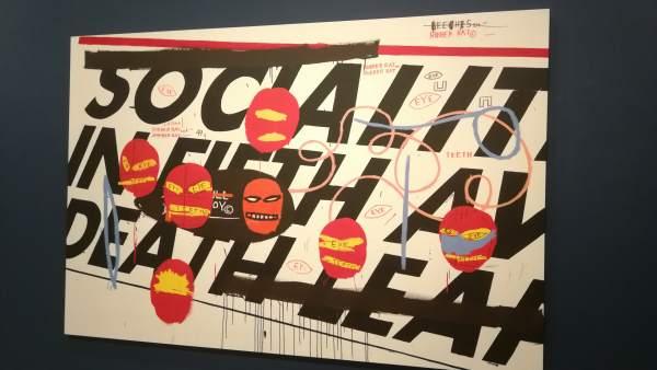 Trabajo colaborativo de Warhol y Basquiat, en 'Tiempos Convulsos' del IVAM
