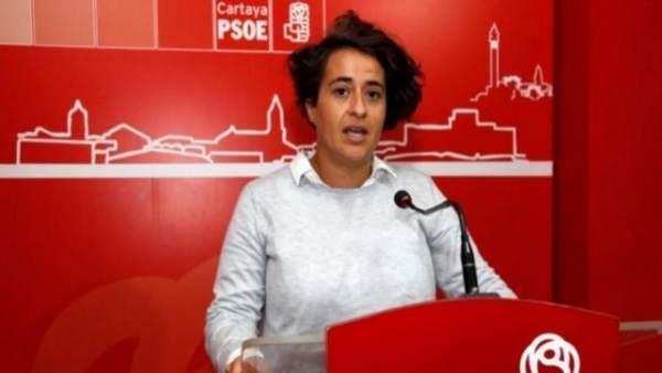 La socialista de Cartaya Conso Benítez