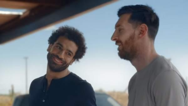 Messi y Salah