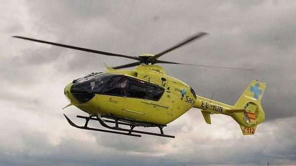 Valladolid.- Helicóptero medicalizado