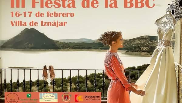 Cartel de la III Fiesta de la BBC en Iznájar