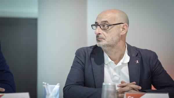 Félix Álvarez, portavoz autonómico de Cs Cantabria y diputado nacional