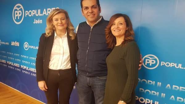 Cristina De Toro, Juan Diego Requena y Maribel Lozano