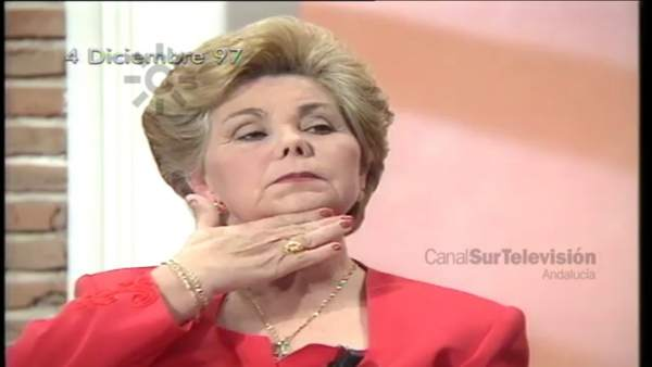 Ana Orantes denunció su caso de violencia machista en Canal Sur TV
