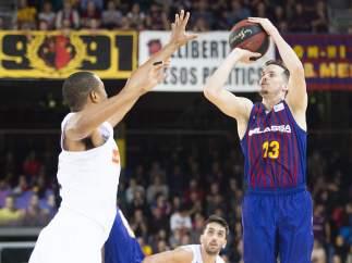 Heurtel (Barcelona) y Randolph (Real Madrid)
