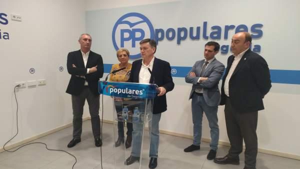 Vázquez durante su compartecencia con Paloma Sanz y Pablo Pérez