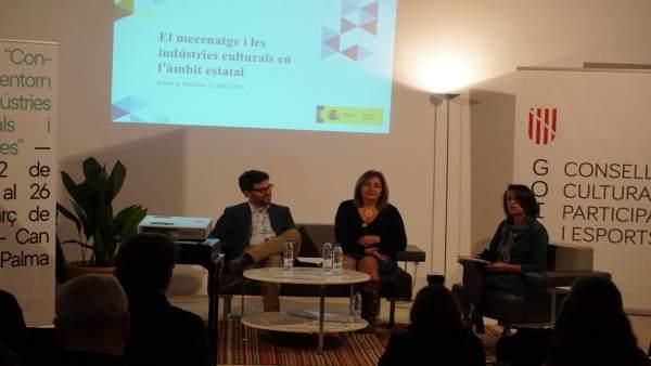 Ciclo de 'Converses entorn de les Indústries Culturals i Creatives'