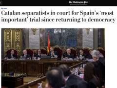 El juicio al 'procés', en 'The Washington Post'