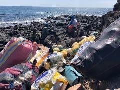 Plásticos en Galápagos