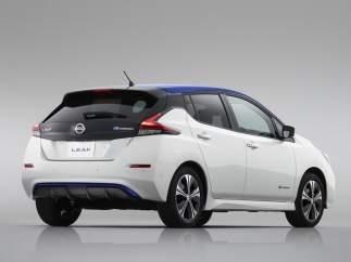 Nissan LEAF: líder del mercado de coches eléctricos el primer mes del año.