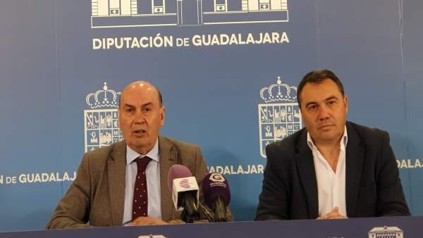 El presidente de la Diputación de Guadalajara, José Manuel Latre