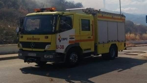Un vehículo de bomberos de Cádiz en una imagen de archivo