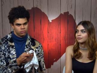 Yeray y Ane, en 'First dates'.