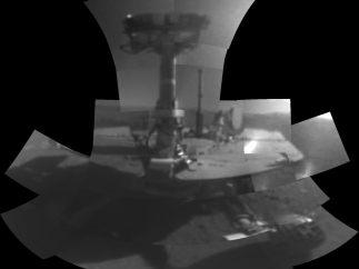 Primer selfi en Marte