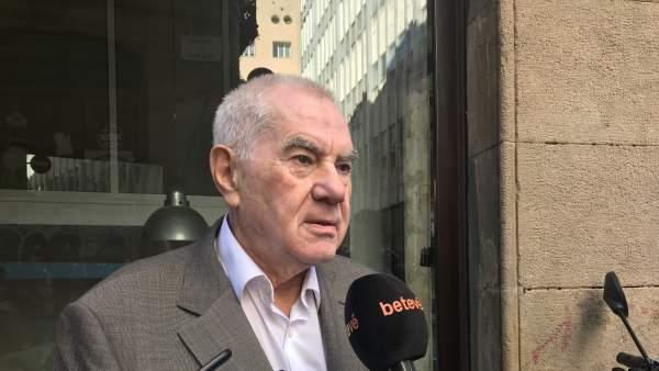 El alcaldable de ERC en Barcelona, Ernest Maragall