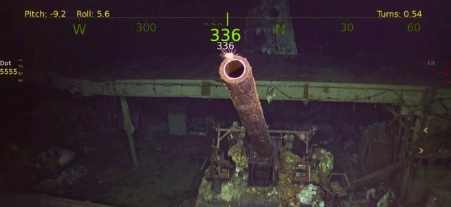 El portaaviones perdido de la segunda Guerra Mundial