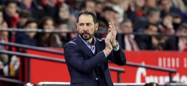 Pablo Machín, entrenador del Sevilla FC.