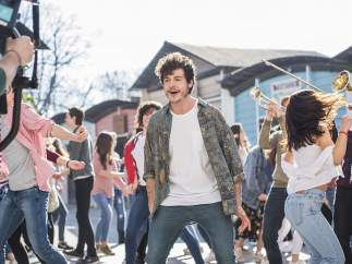 Grabación del videoclip de 'La venda' para Eurovisión