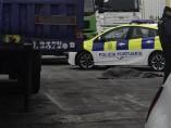 Agentes de la Policía Portuaria de Ceuta