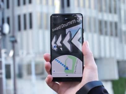 Nuevo Google Maps con realidad aumentada