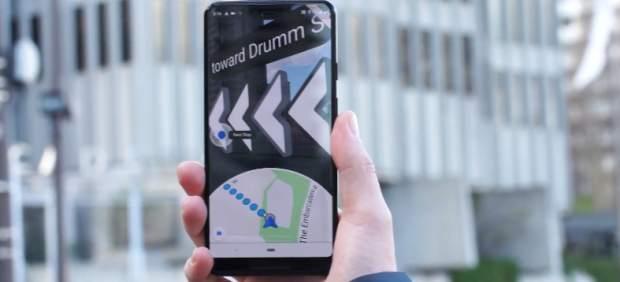Así funciona el nuevo Google Maps con realidad aumentada